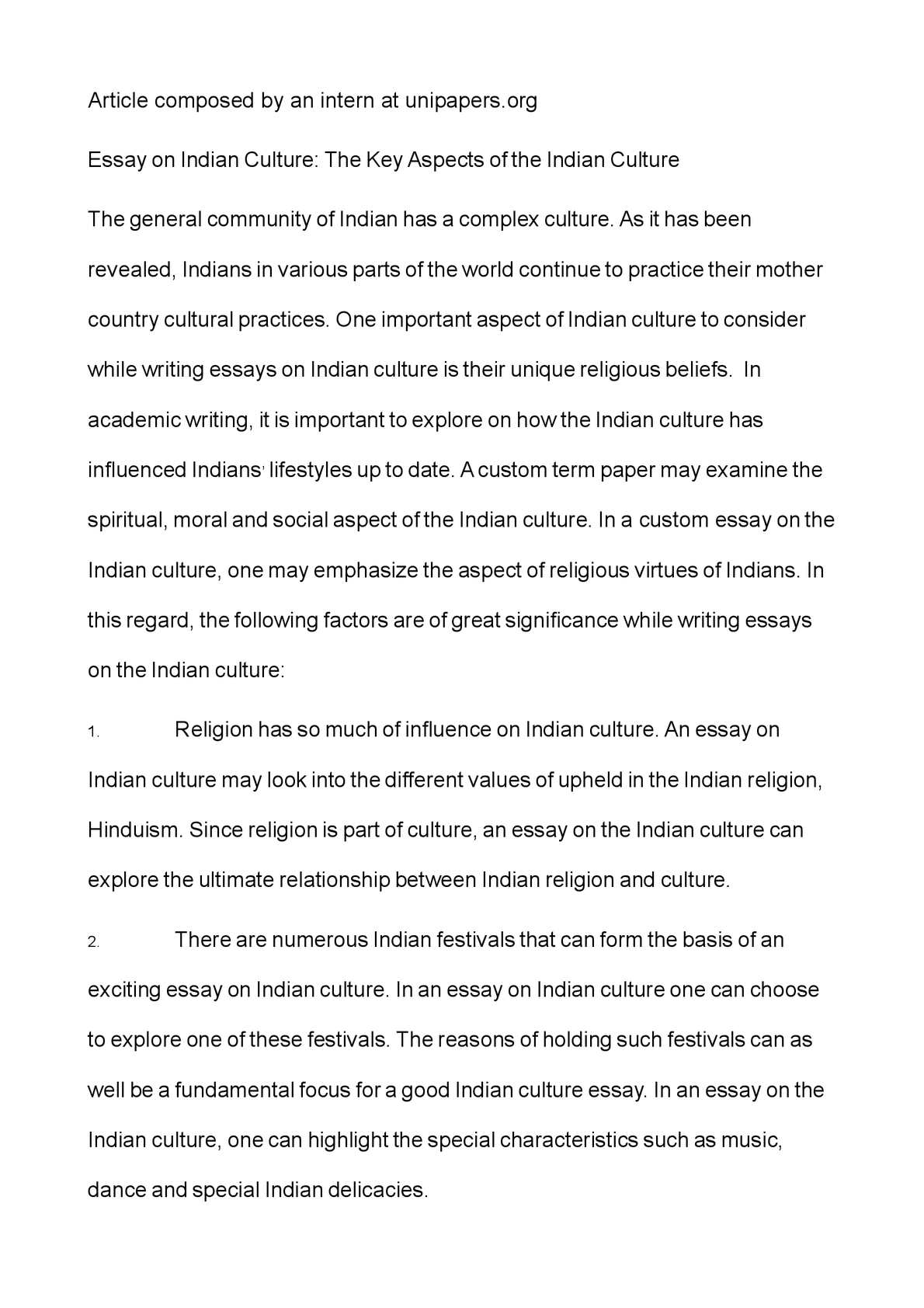 My School Essay In English  Write My Essay Paper also Argumentative Essay Sample High School Calamo  Essay On Indian Culture The Key Aspects Of The Indian Culture Reflective Essay Thesis