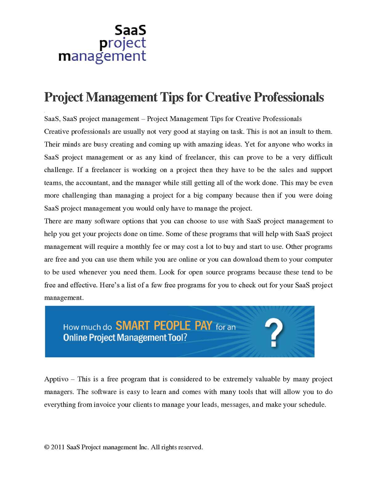 Calamo Project Management Tips For Creative Professionals