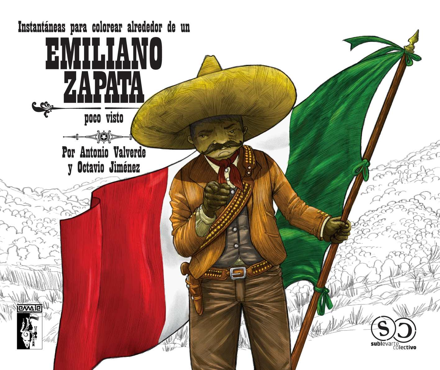 Calaméo - Instantaneas para colorear alrededor de un Emiliano Zapata ...