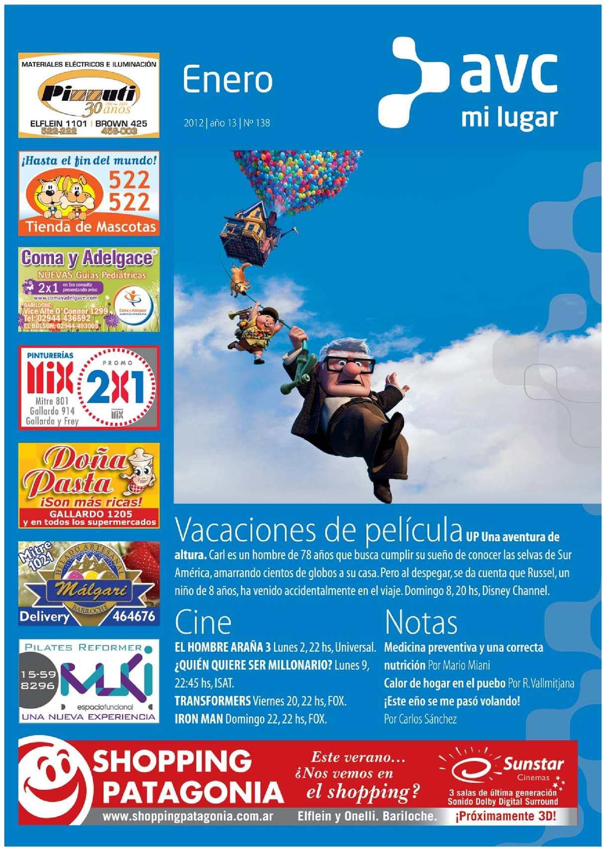 Revista AVC Videocable ene2012