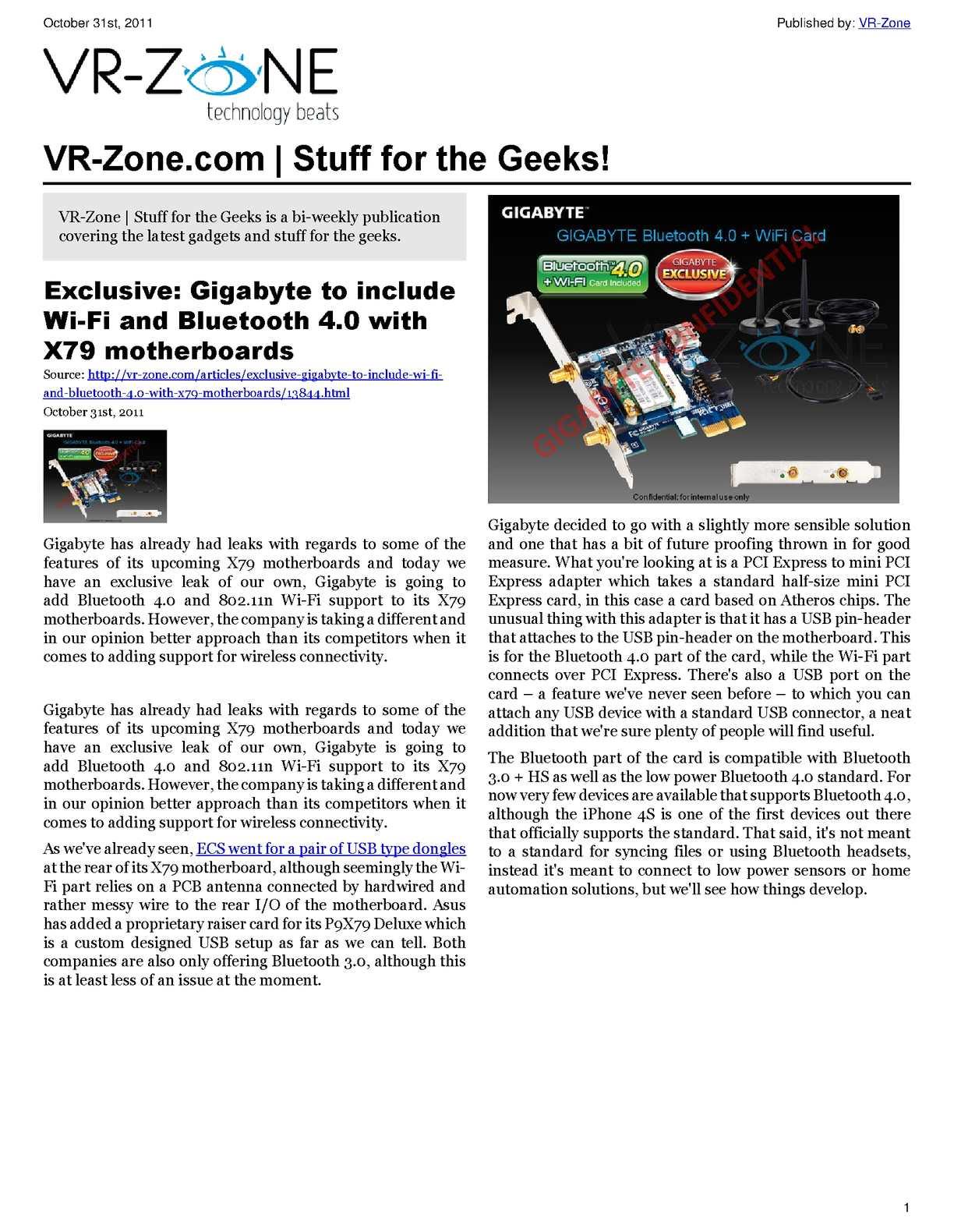 calamo vr zone tech news for the geeks nov 2011 issue