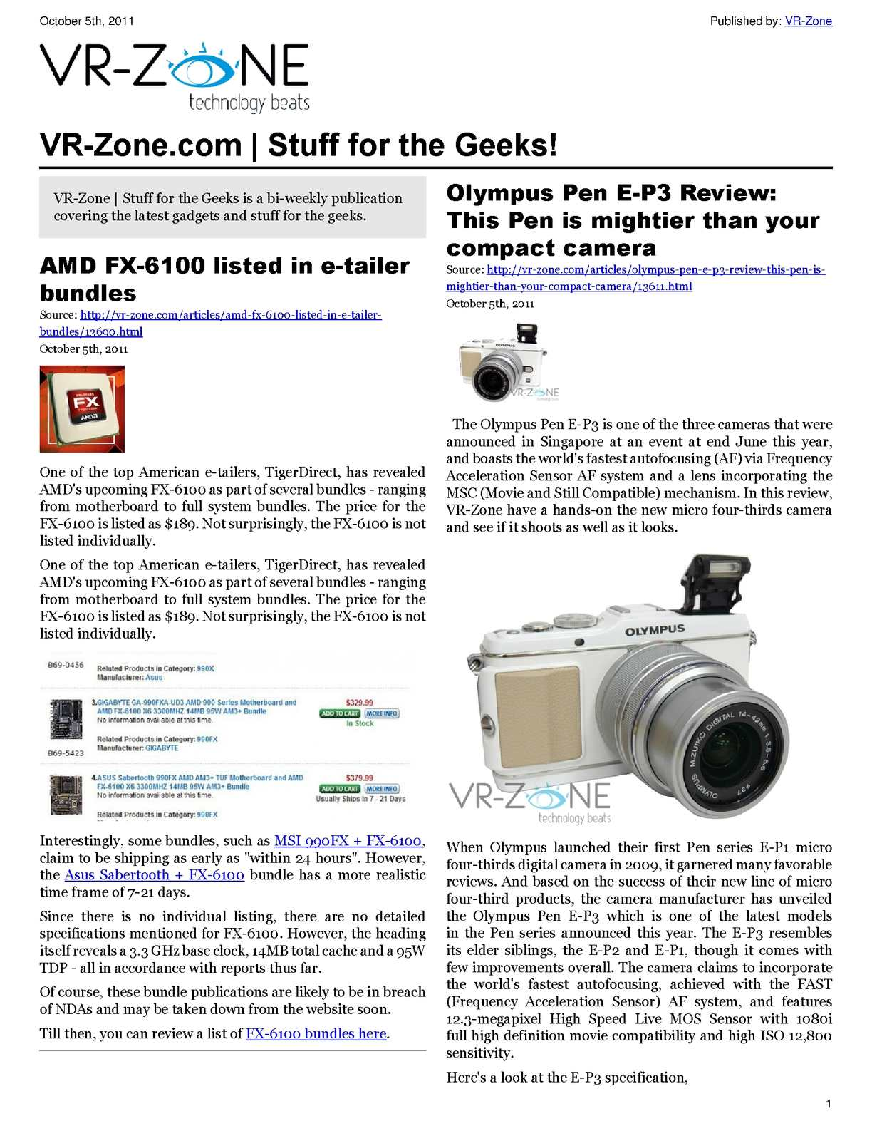 Calamo Vr Zone Tech News For The Geeks Oct 2011 Issue Streamer With 3x Airplay Ce Pro On Installing Outdoor Wiring Speakers