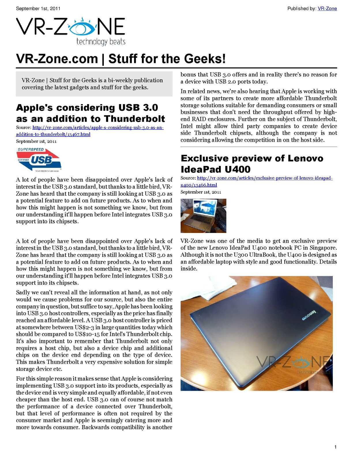 Calamo Vr Zone Tech News For The Geeks Sep 2011 Issue Checking Power Mosfet With Simple Tester Savel Brain Dump In English
