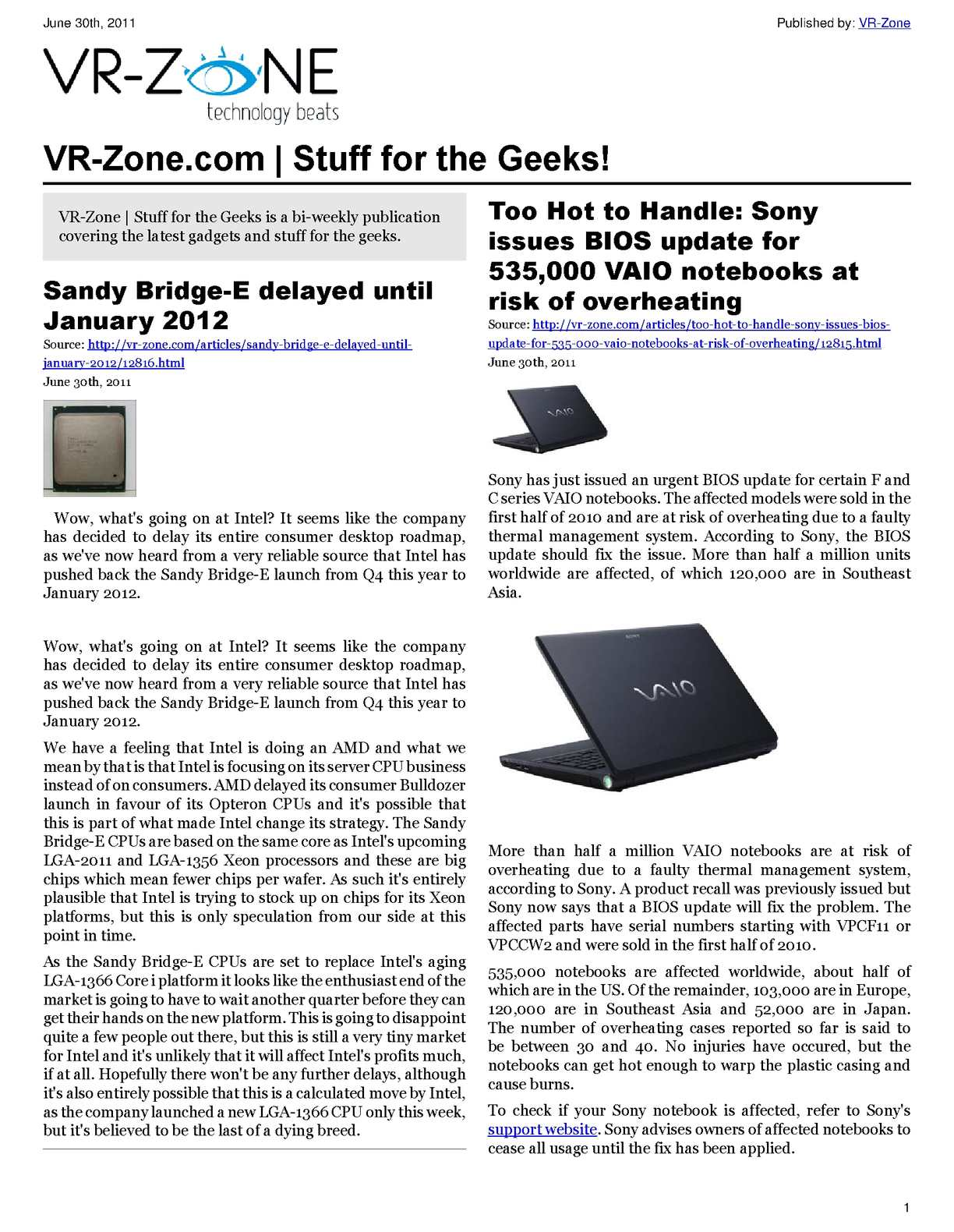 Calamo Vr Zone Tech News For The Geeks Jul 2011 Issue Sticker Logo Nvidia Geforce Gt Green Optimus Gtx