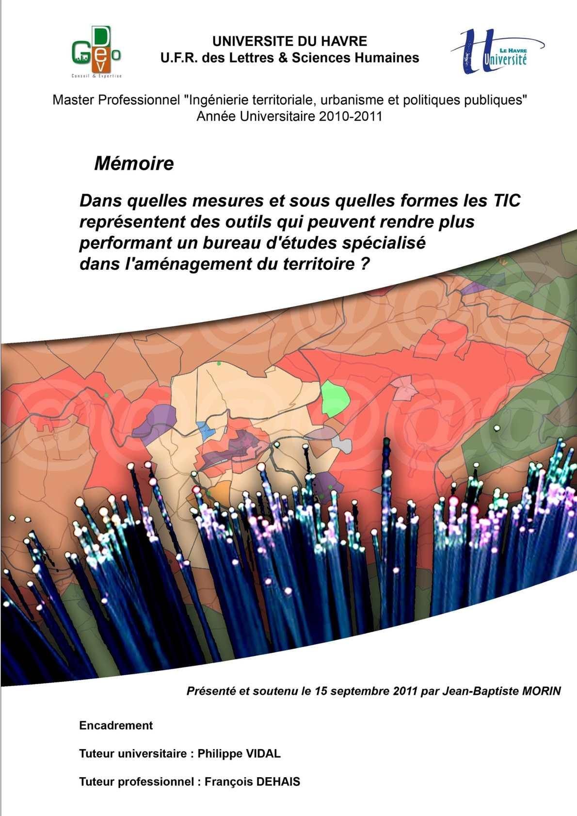 Calam o m moire de stage bureau d 39 tudes urbanisme geodev - Bureau d etude urbanisme paris ...