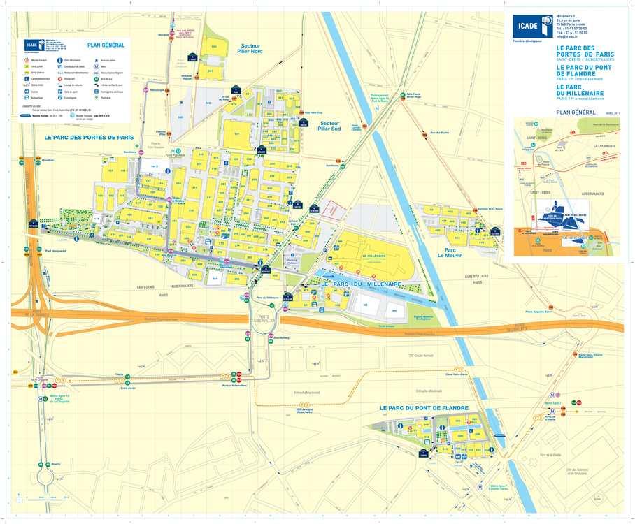Calam o icade un plan de d placements ambitieux - Porte d aubervilliers plan ...