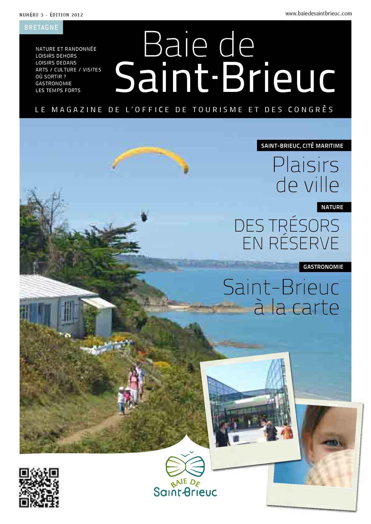 Calam o baie de saint brieuc saison 2012 le magazine - Office de tourisme de st brieuc ...