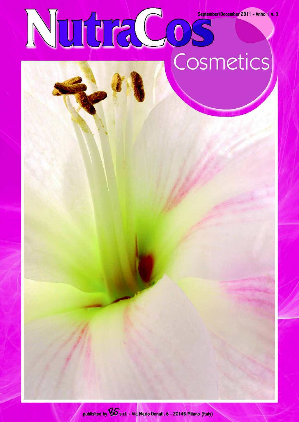 Calamo Nutracos Cosmetics September December 2011 Curcuma Rmulsion Blackcurrant Flavour