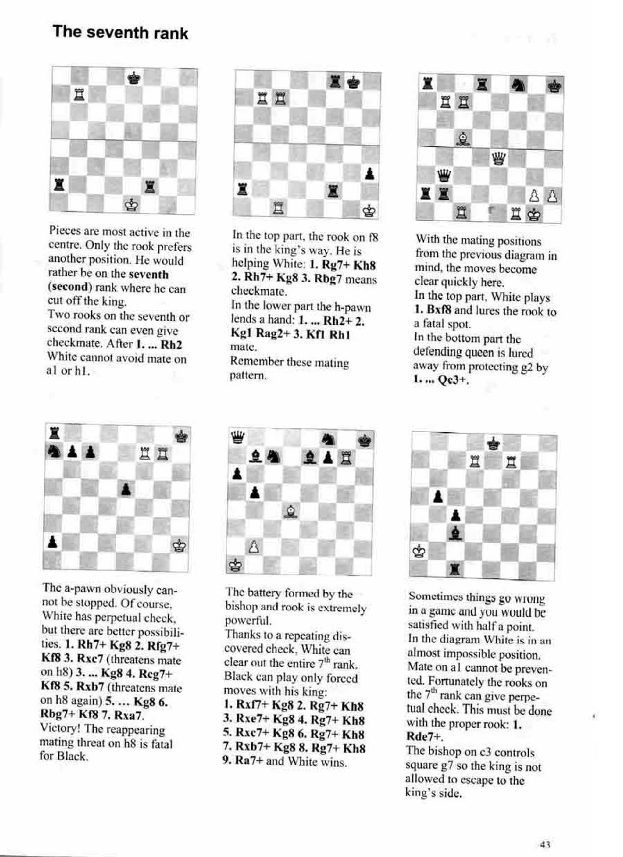 Learning Chess Step 4 Workbook Calameo Downloader Four Move Checkmate Diagram Page 44