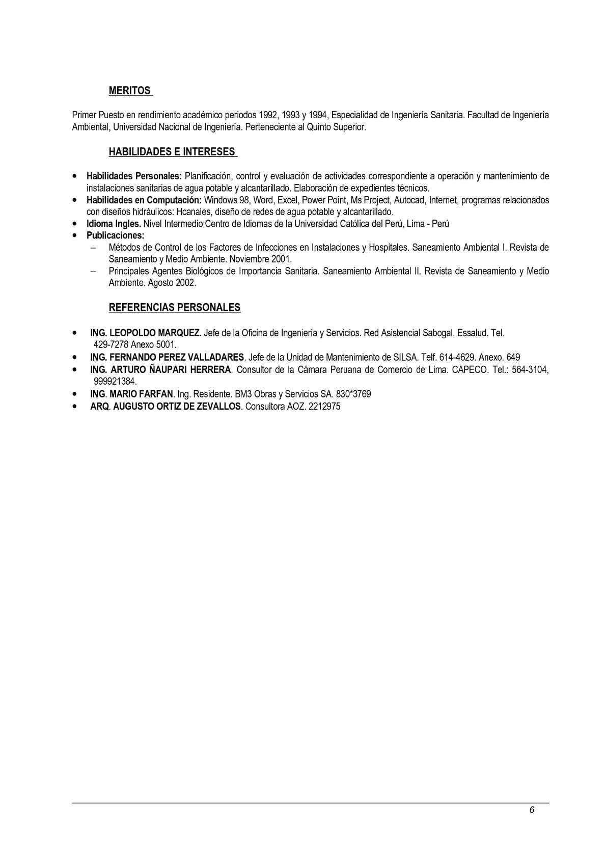 Excelente Consultor De Curriculum Galería - Ejemplo De Colección De ...