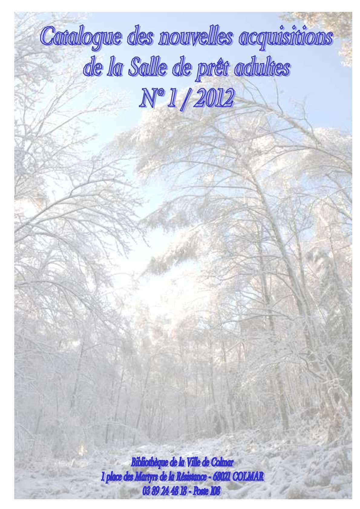 Calaméo - Catalogue nouveautés lecture publique adultes 966d36251f5
