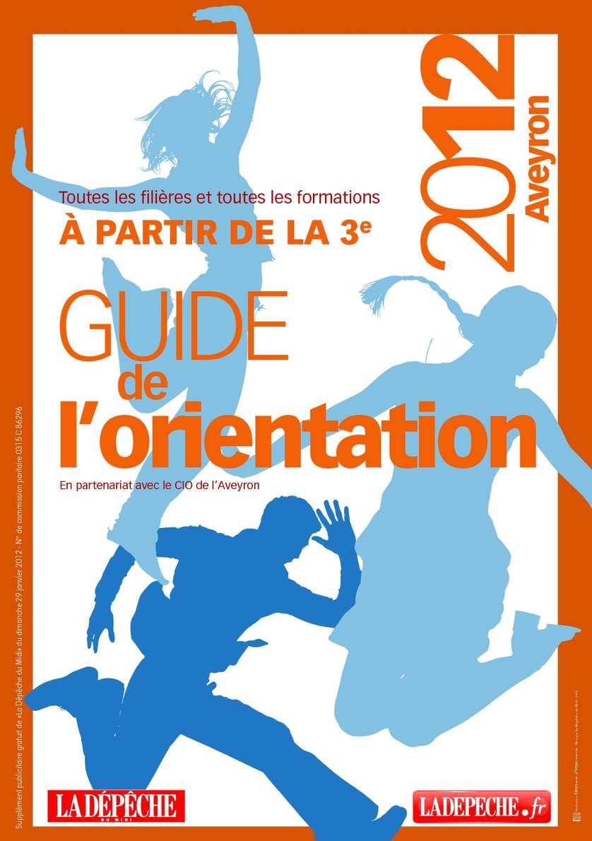 Calam O Guide De L 39 Orientation Aveyron 2012