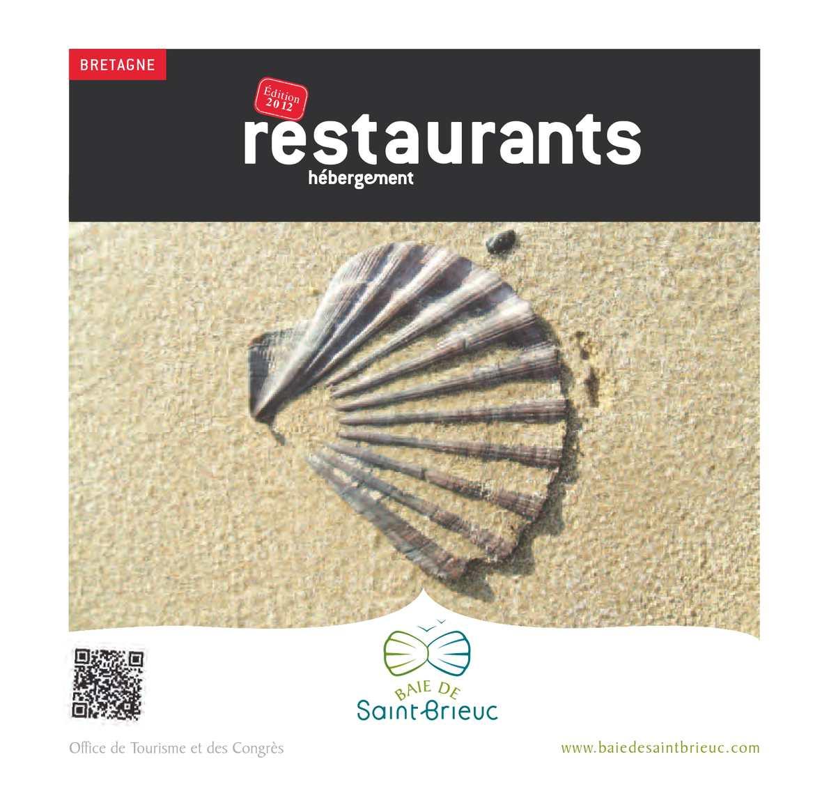 Calam o guide 2012 des restaurants en baie de saint brieuc - Office de tourisme de st brieuc ...