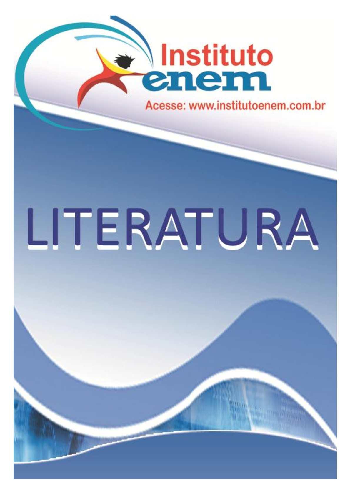 Material de Literatura Instituto Enem