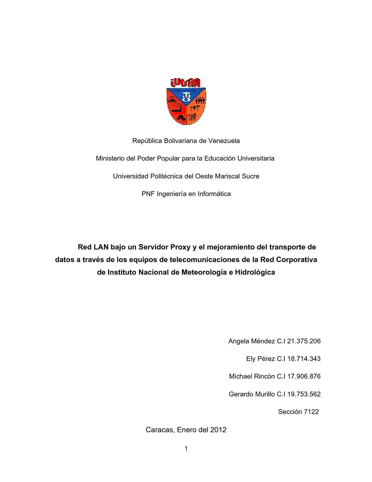 Calaméo - PROYECTO COMPLETO DE RED LAN