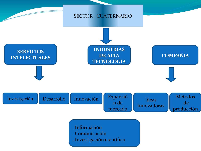 Calam o sector cuaternario de la economia for Todo tecnologia
