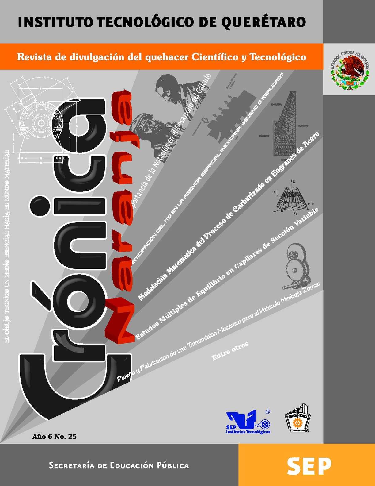 Calaméo - Crónica Naranja Año 6 No. 25