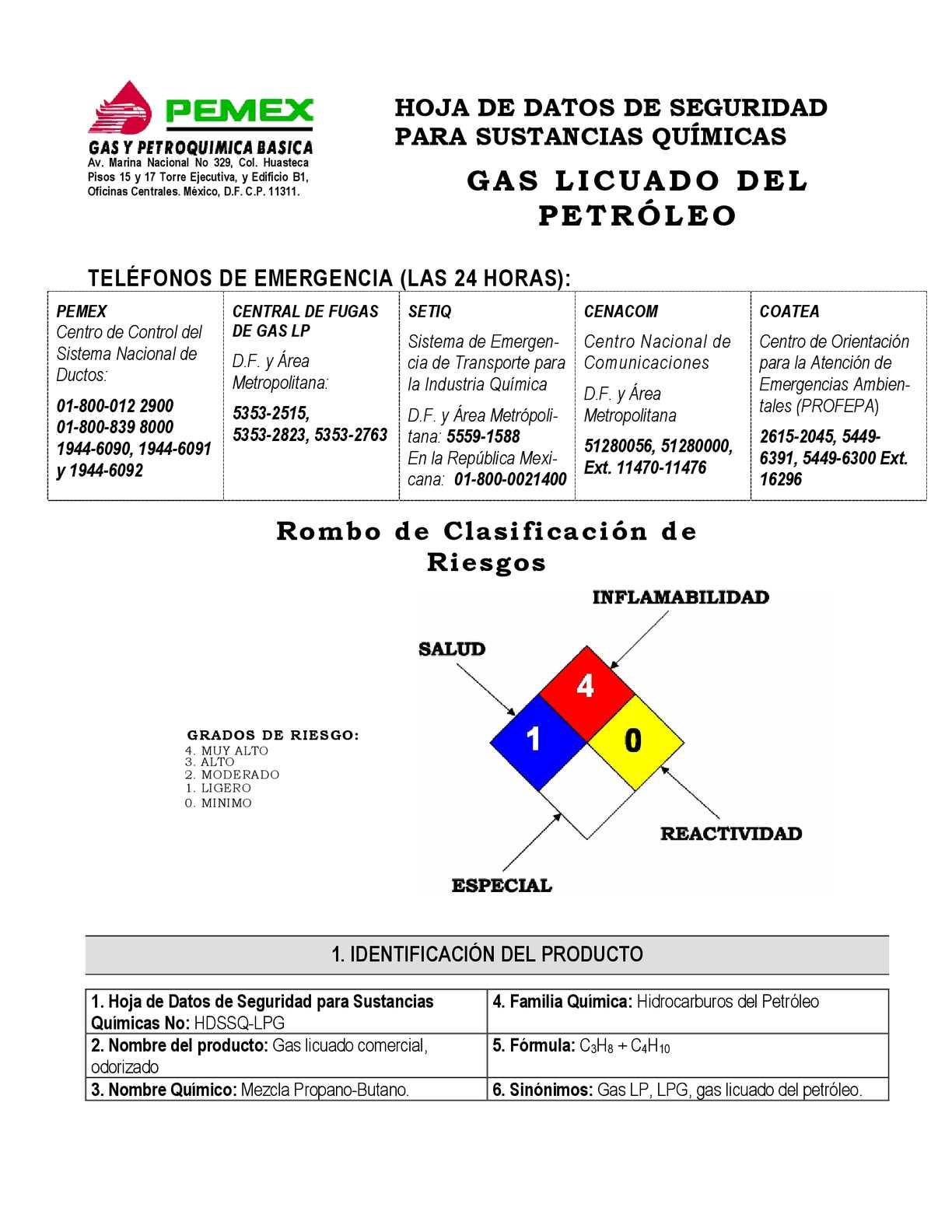 Calam o 67674361 hojaseguridadtec gaslp v2007 for Estanques de gas licuado