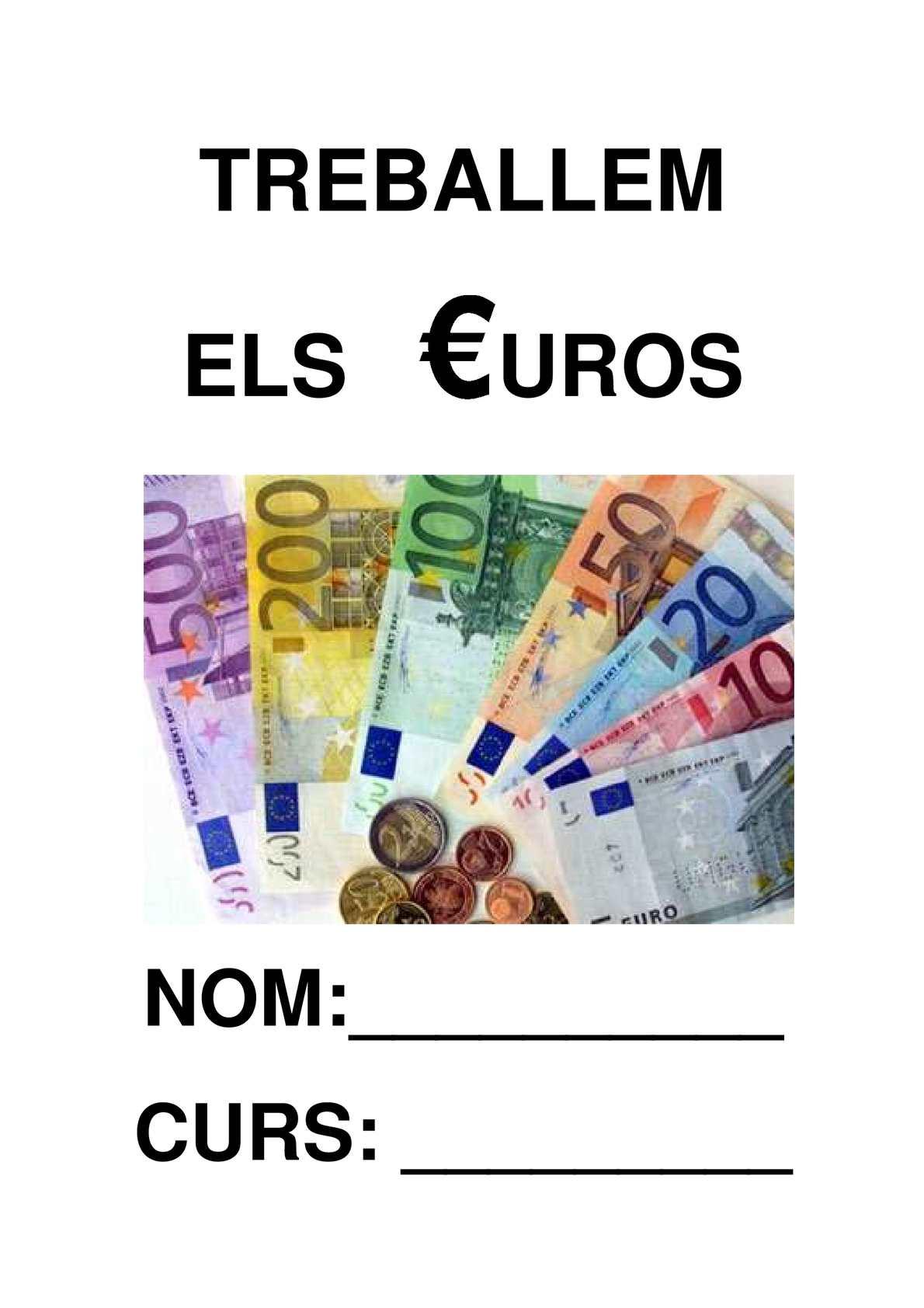 Treballem els Euros
