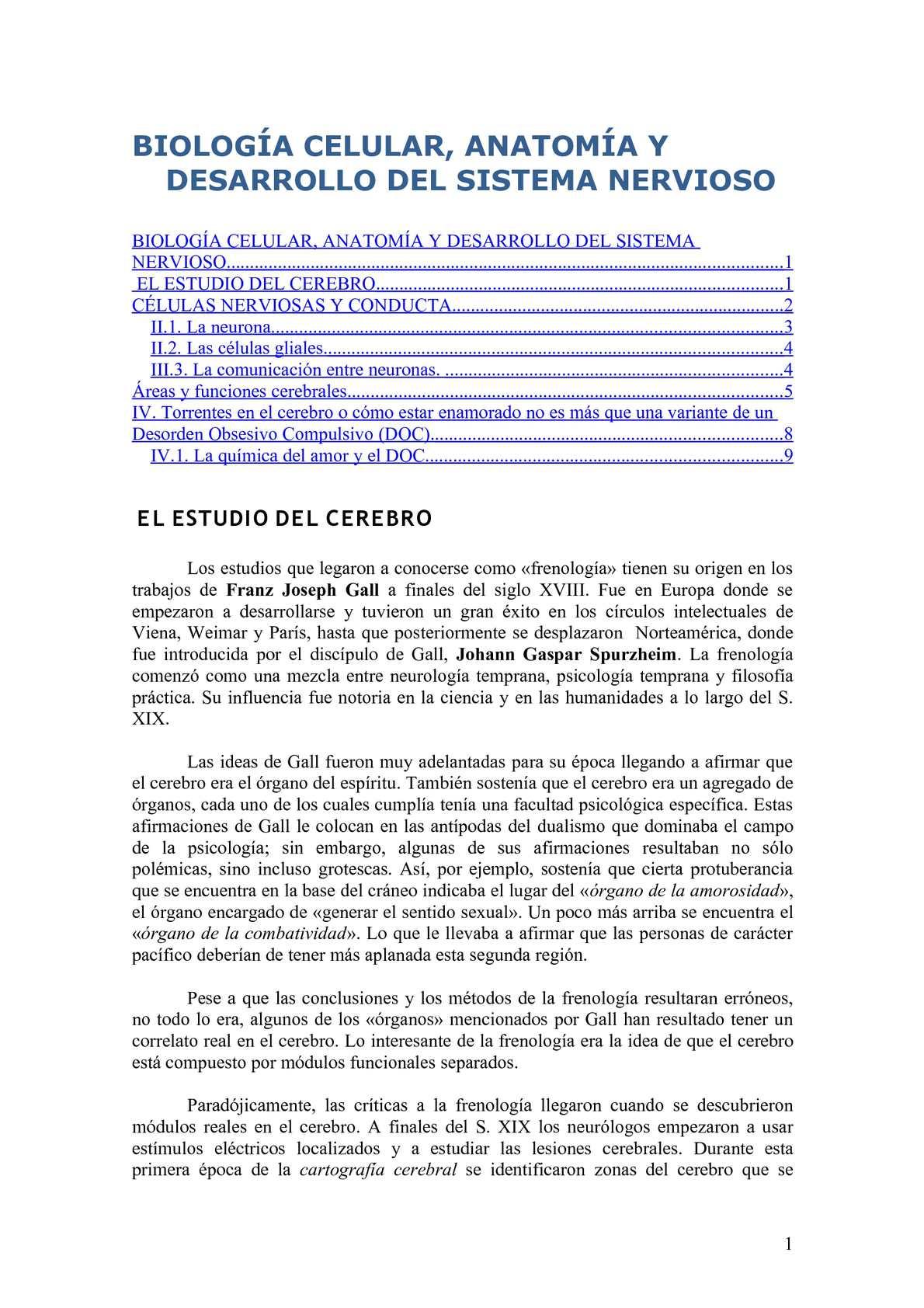 Calaméo - Biología celular, anatomía y desarrollo del sistema nervioso
