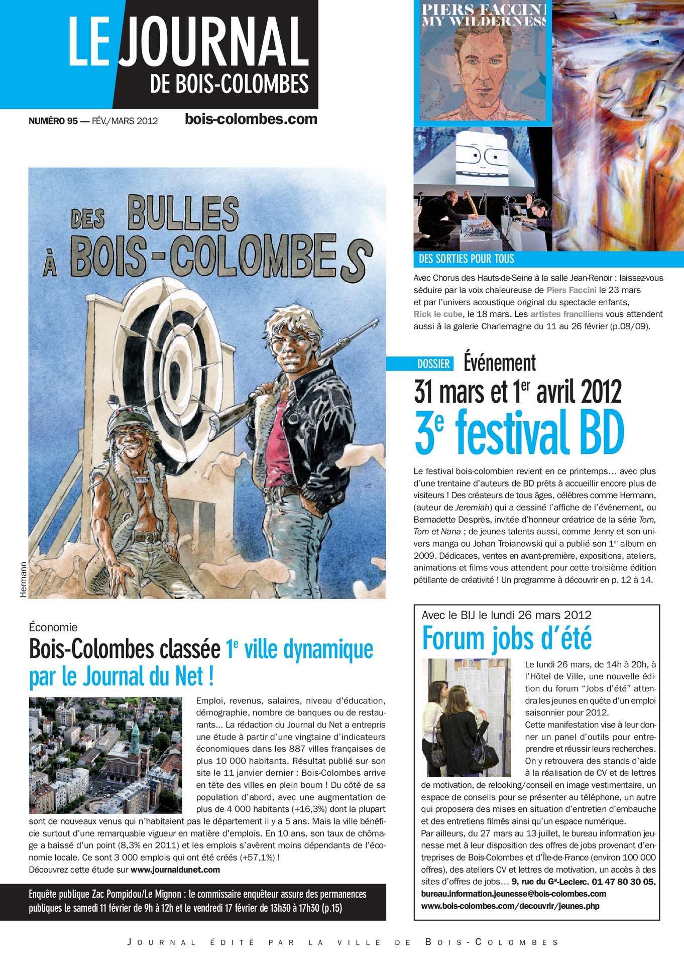 Calaméo  Le journal de BoisColombes JBC 95  Fevrier