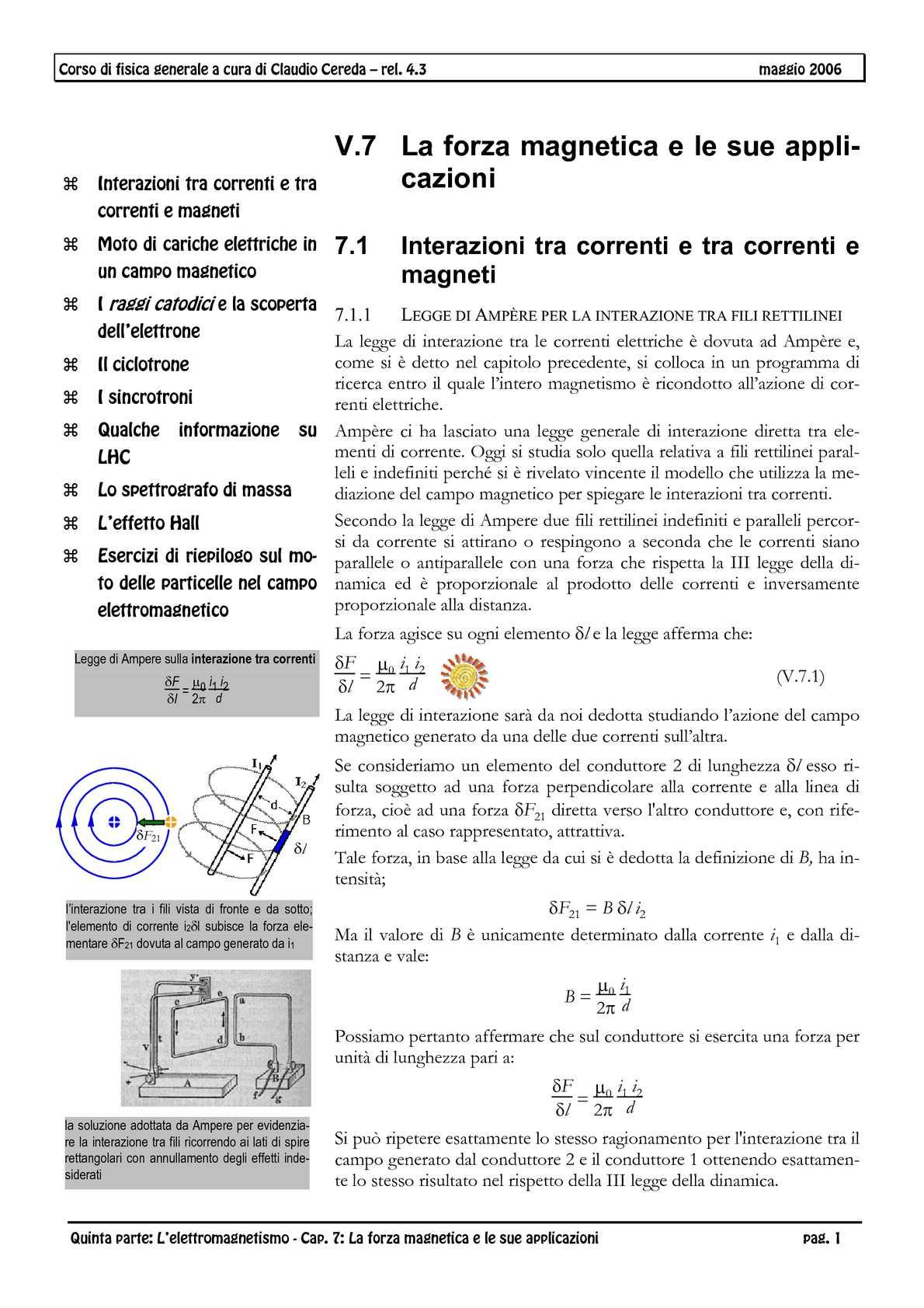 Elettromagnetismo 7