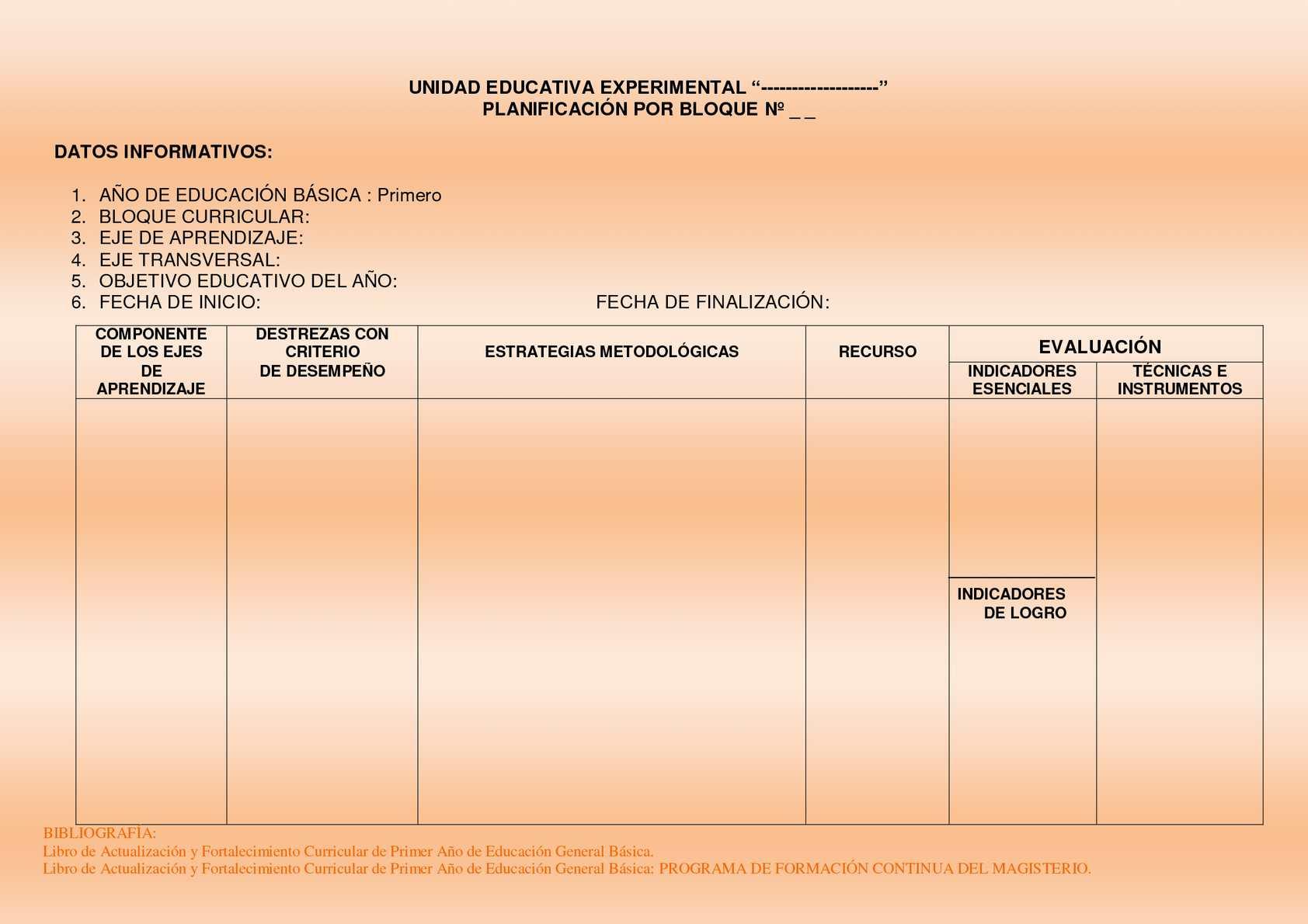 Calaméo - Formato_Planificacion primero de básica.