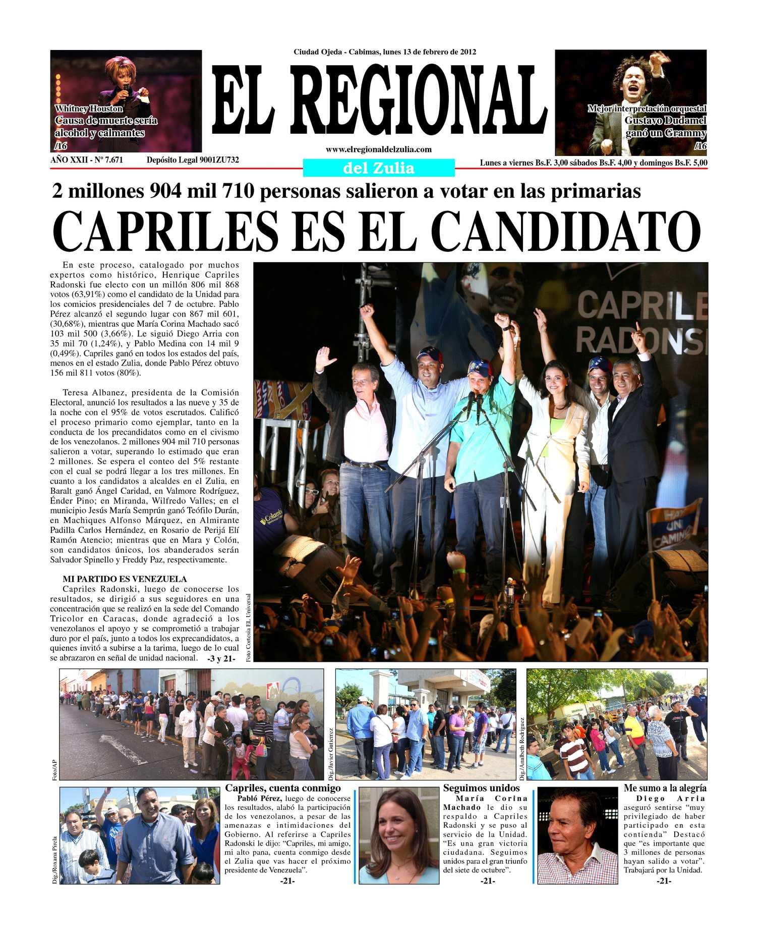 Calaméo - El Regional del Zulia 13-02-2012