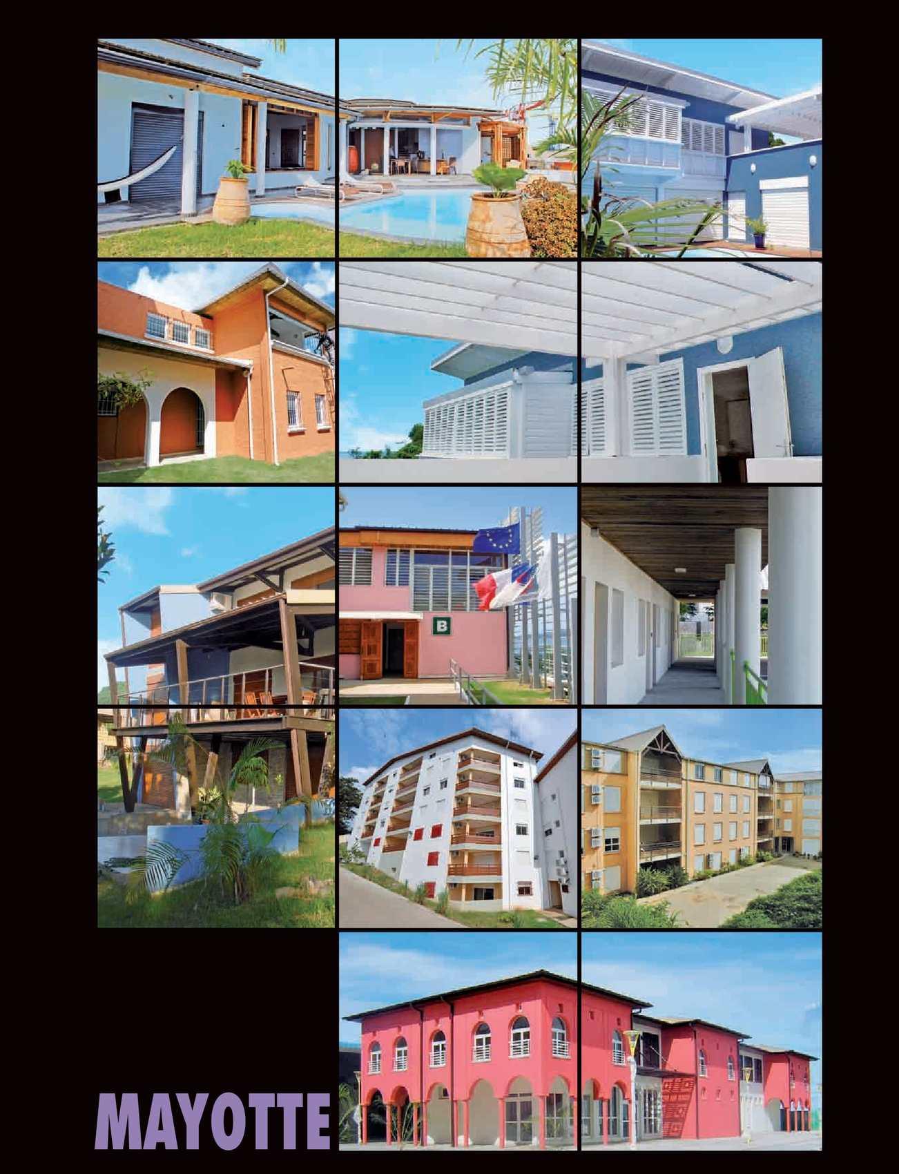 Calam o l 39 architecture de votre region mayotte 235 for Architecture de batiment moderne