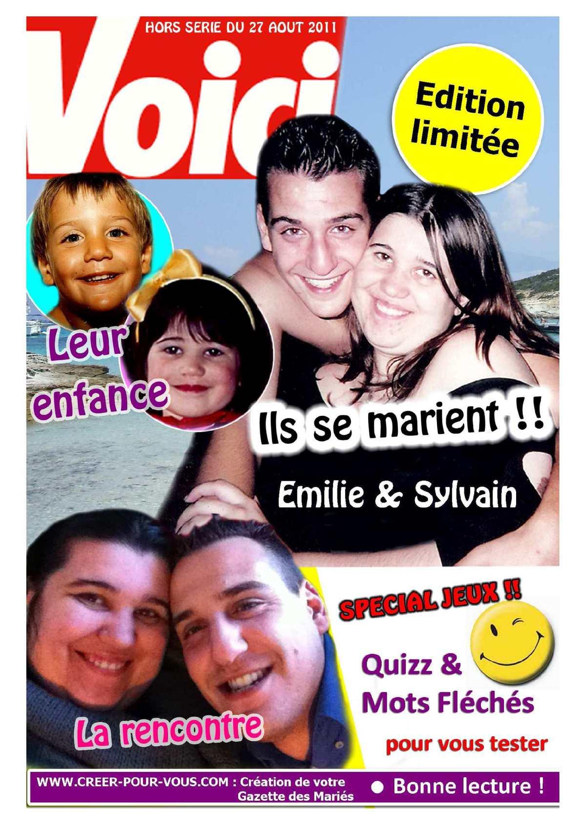 """Gazette des Mariés """"Voici"""""""