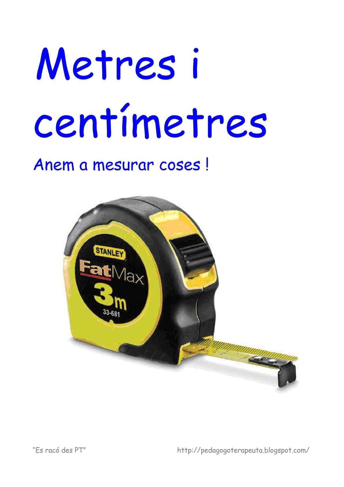 metres i centímetres adaptat