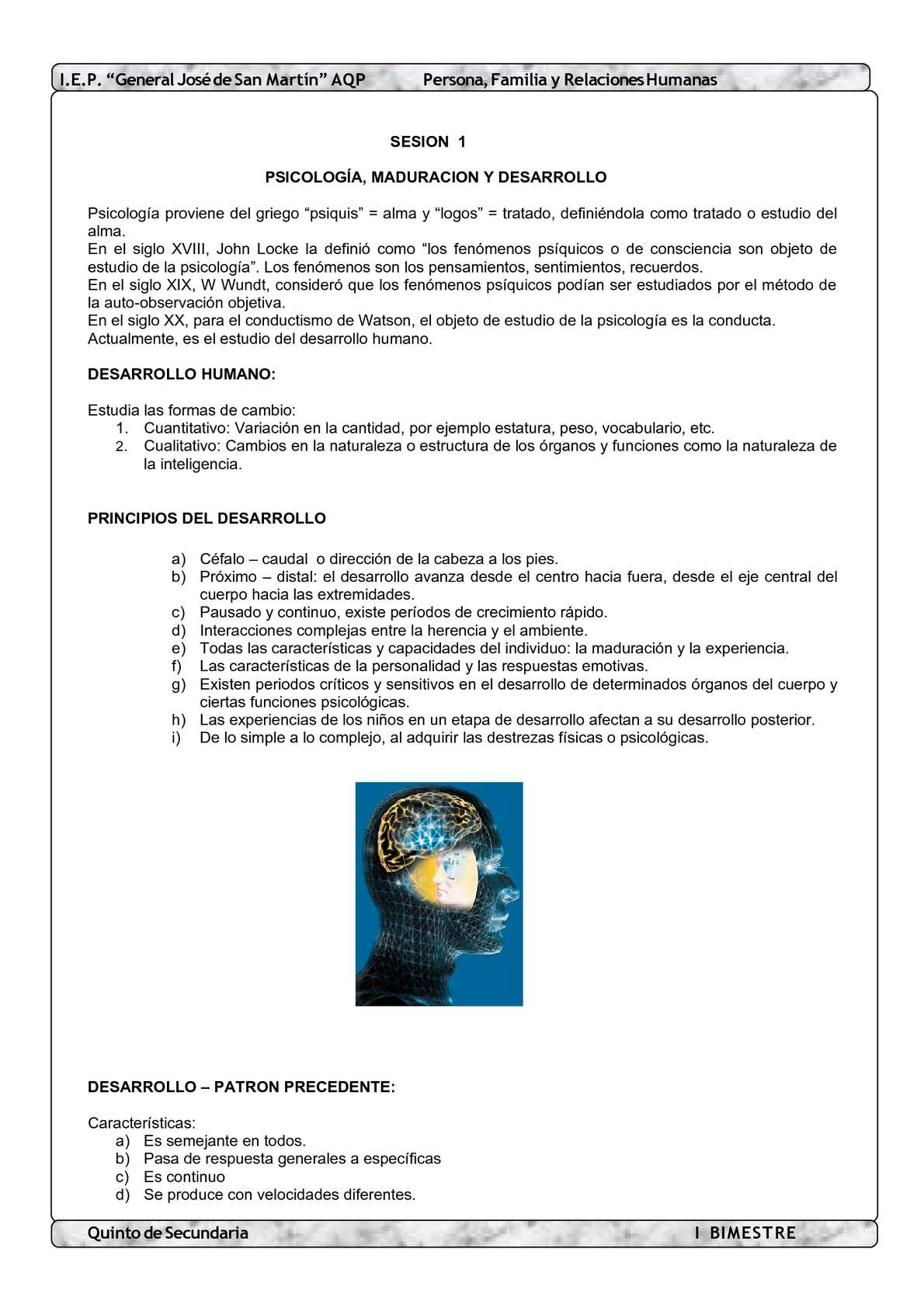 LIBRO 5TO PFRH - I BIM