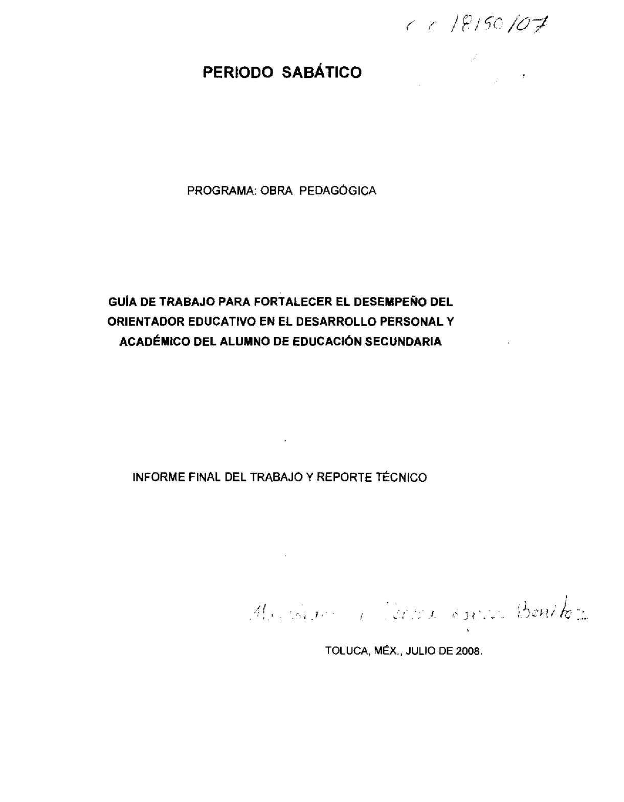 Calaméo - Guía de trabajo para fortalecer el desempeño del ...