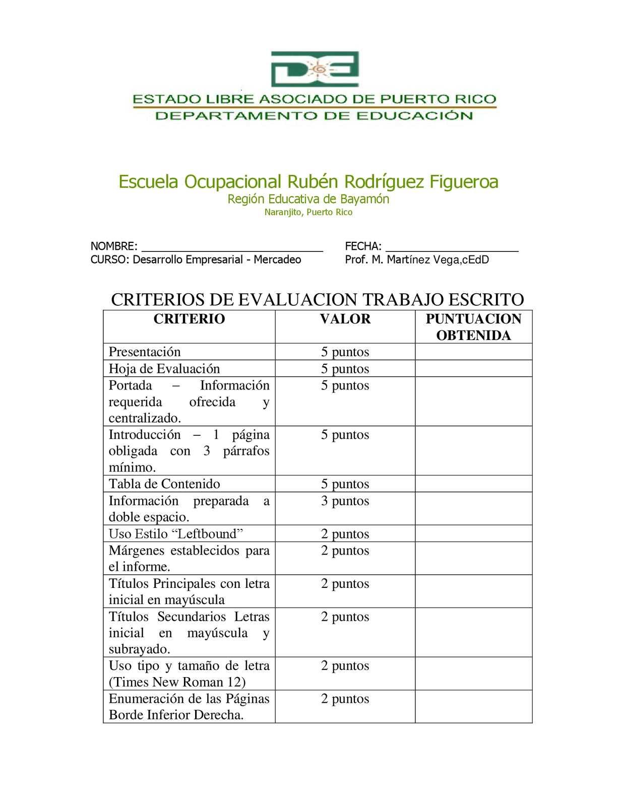 Calaméo - CRITERIOS HOJA EVALUACION TRABAJO ESCRITO FINAL MERCADEO