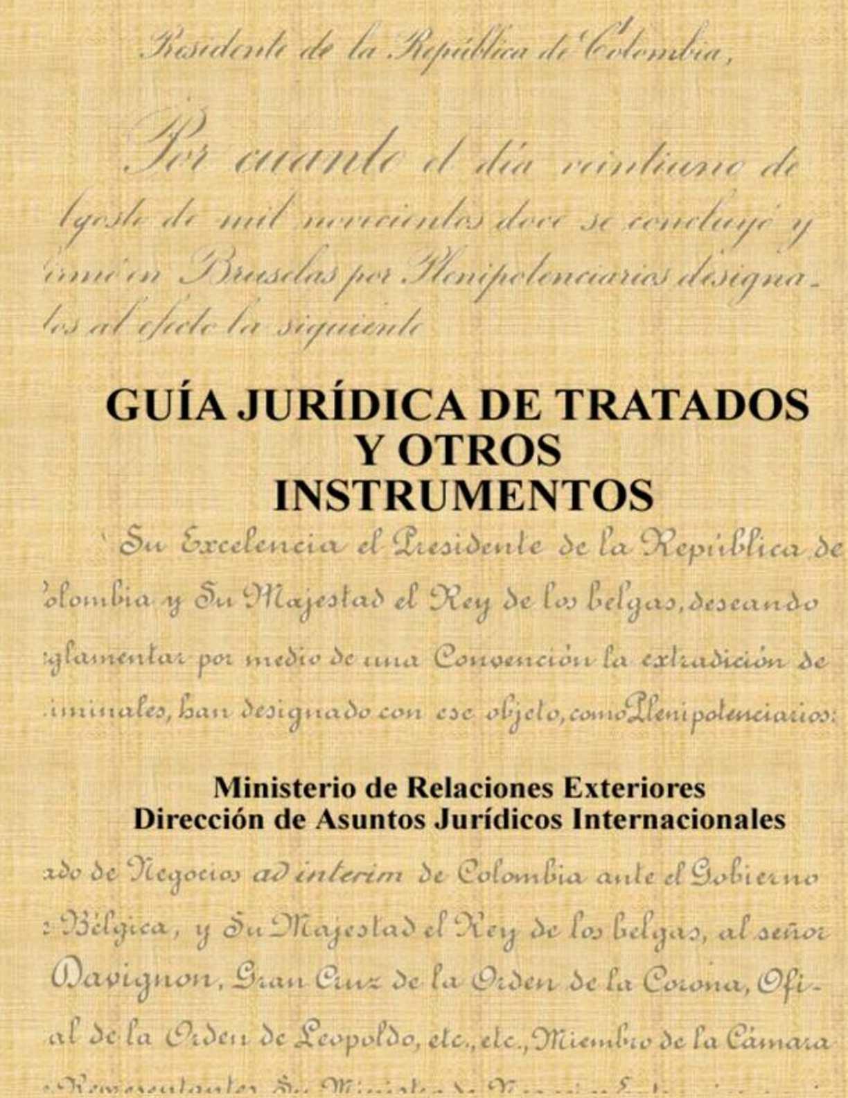 Guía jurídica de tratados y otros instrumentos