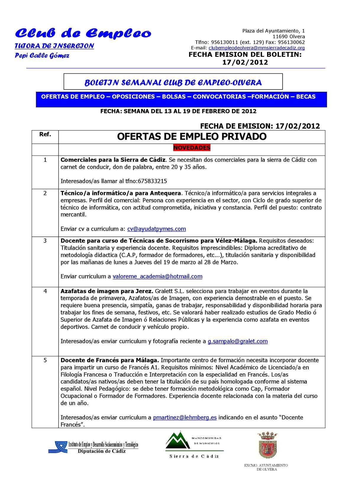 Calaméo - BOLETIN OLVERA 17-02-2012.pdf