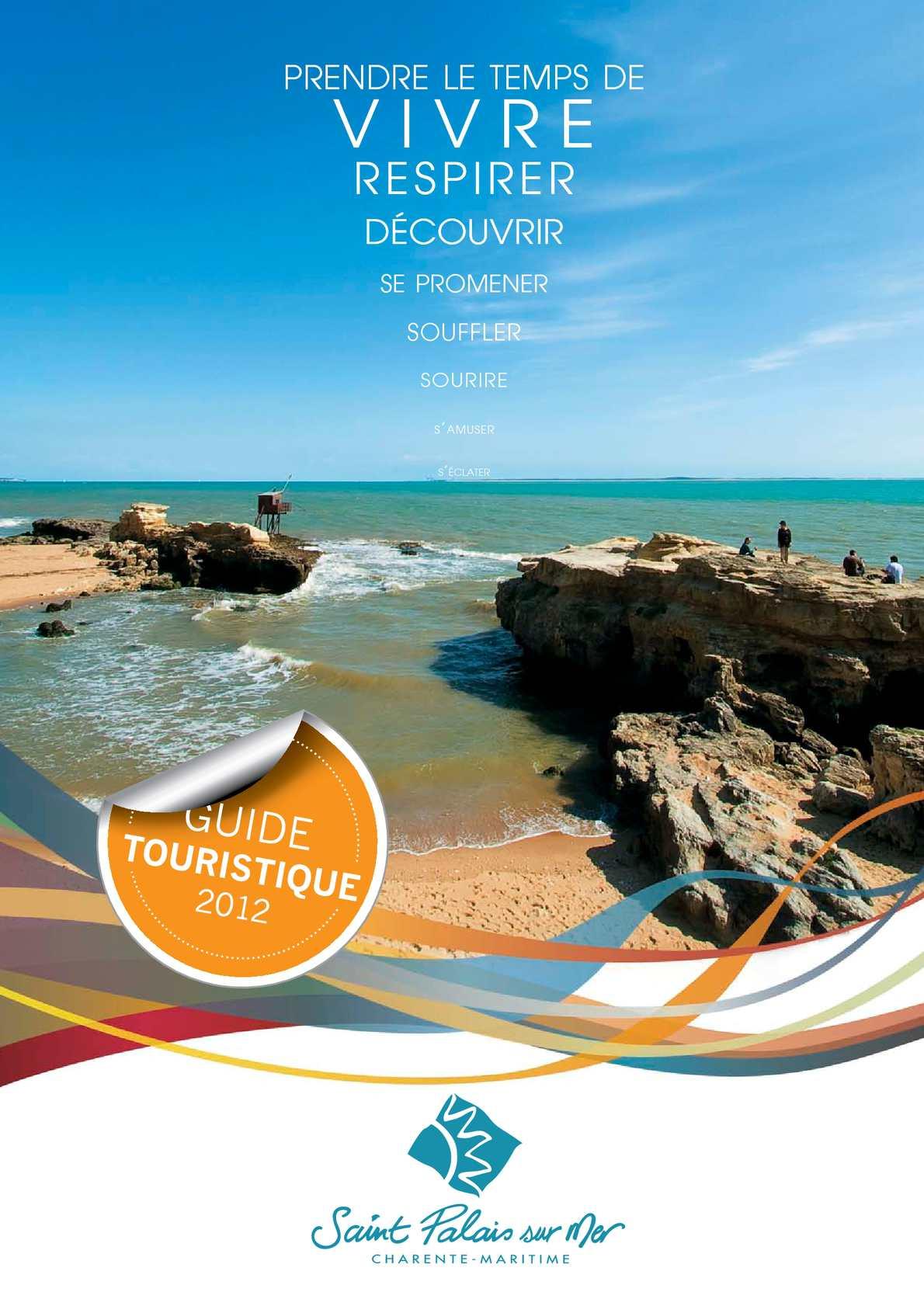 Calam o guide touristique 2012 saint palais sur mer - Saint palais sur mer office du tourisme ...