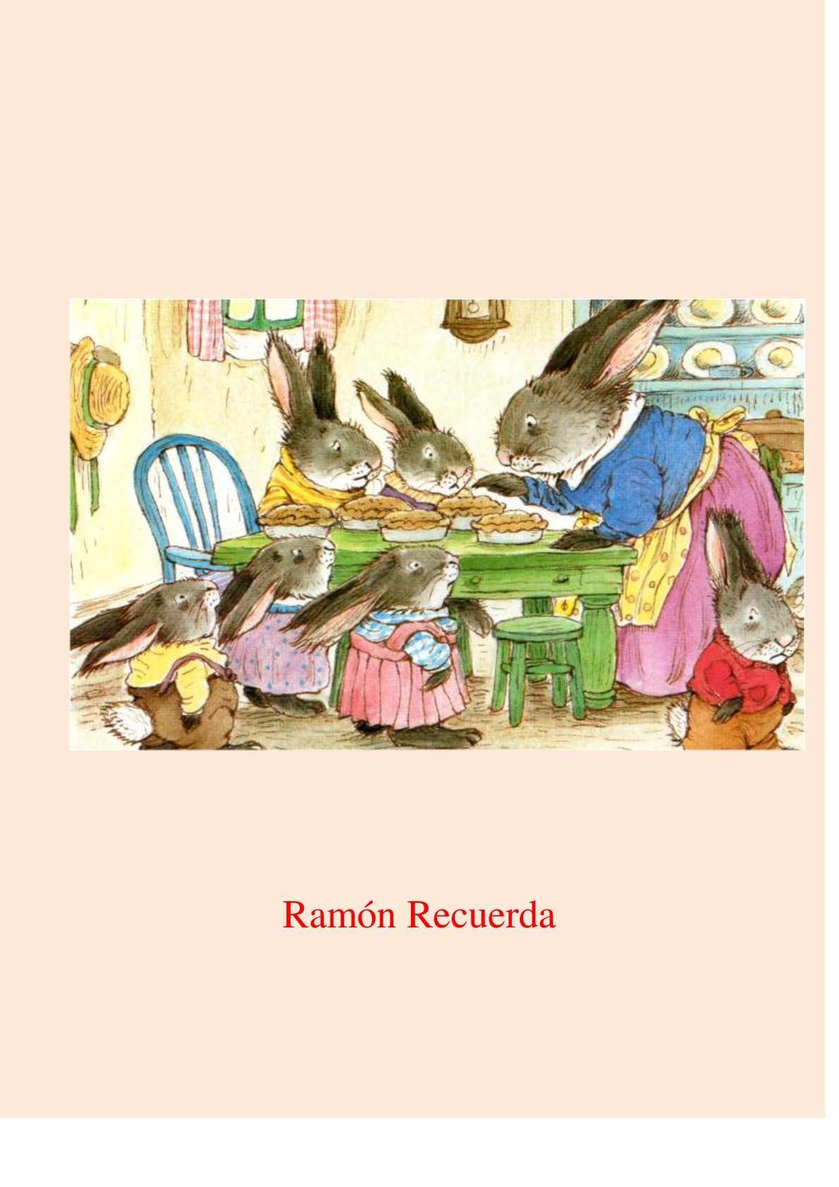 Cuento Ramón Recuerda