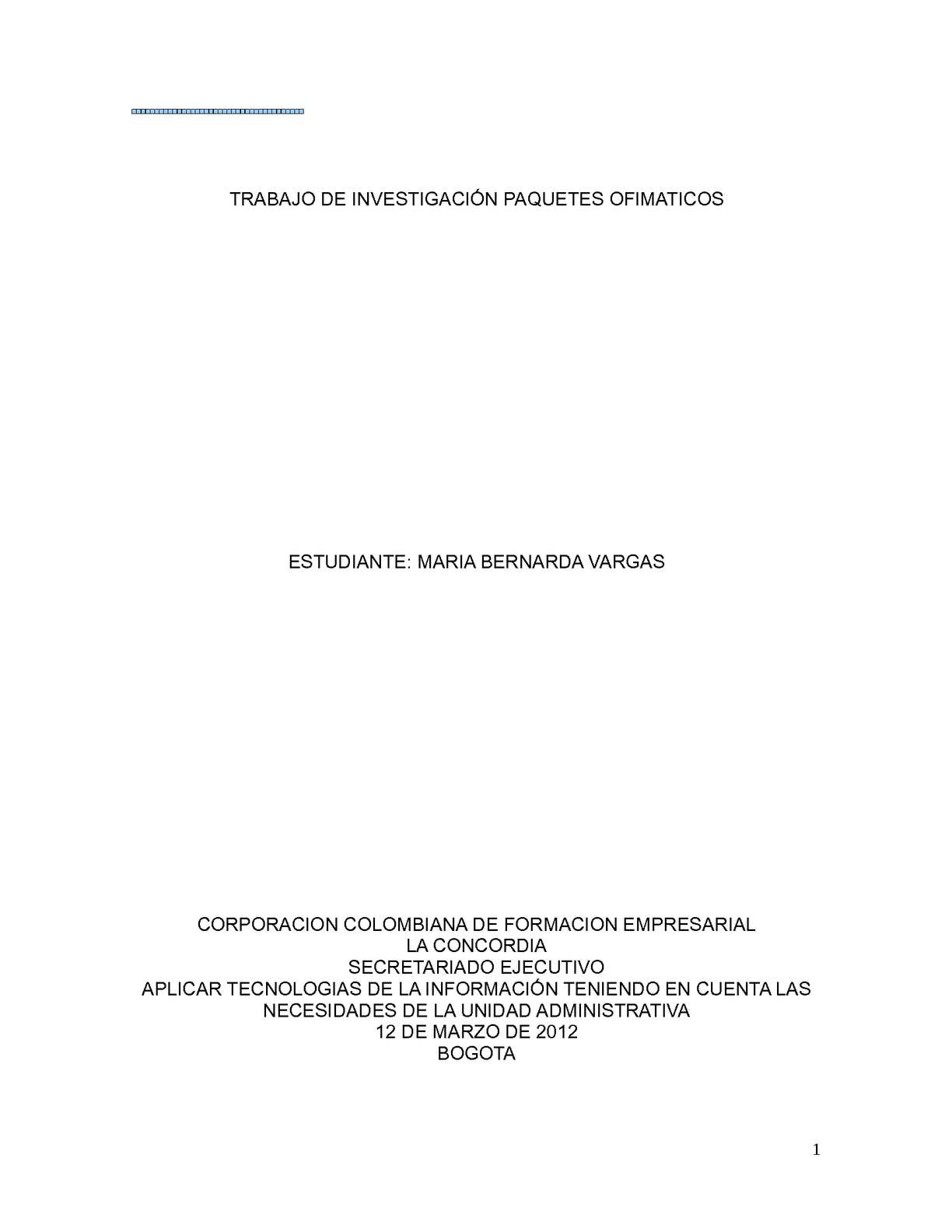 Calaméo - PAQUETES OFIMATICOS