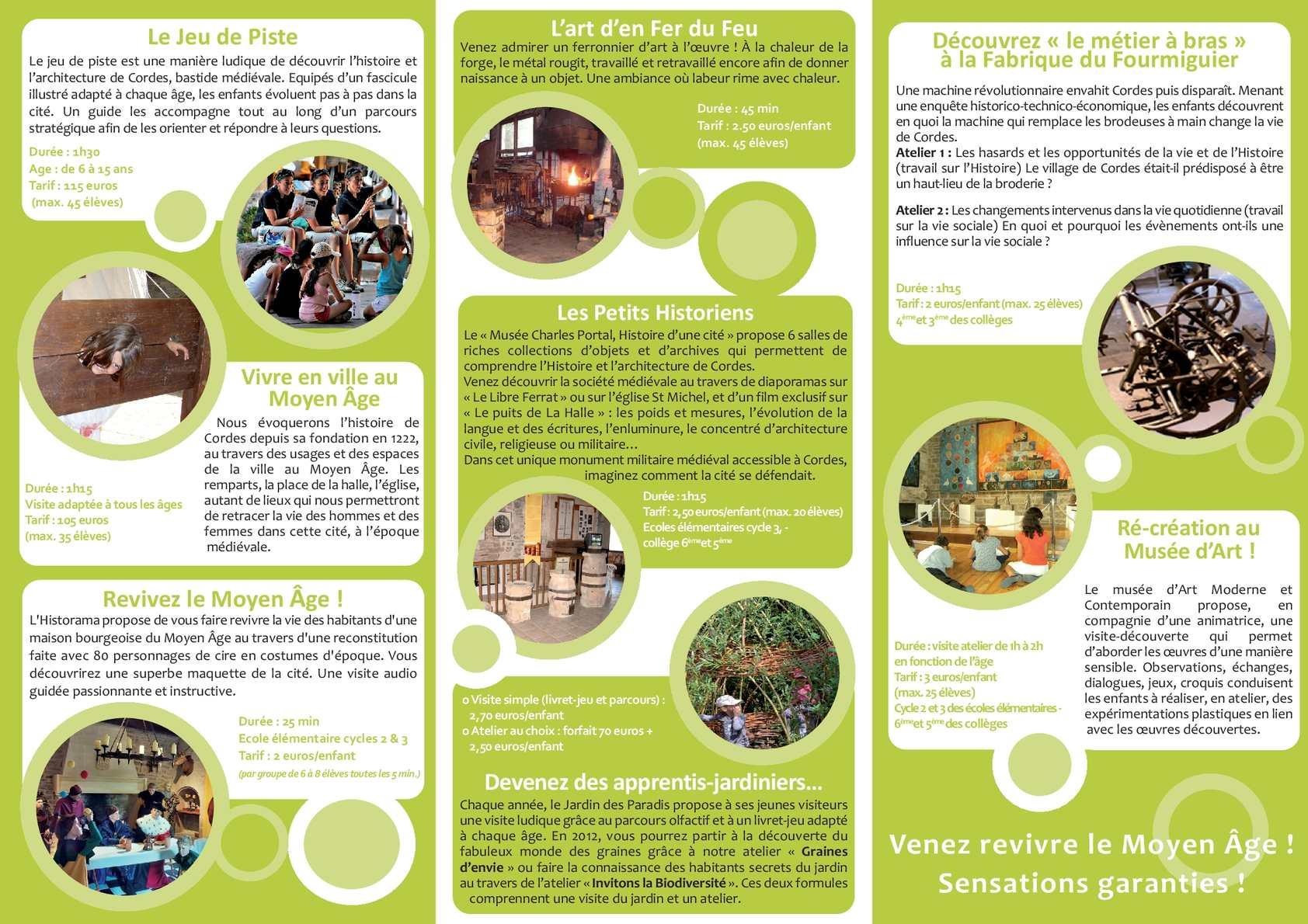 Extrem Calaméo - Brochures Scolaires - Office de Tourisme de Cordes sur  GZ32
