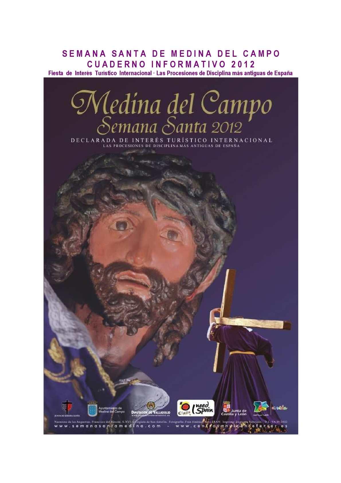 Calam O Medina Del Campo Cuaderno De Prensa Semana Santa 2012  # Muebles Cesteros Alaejos