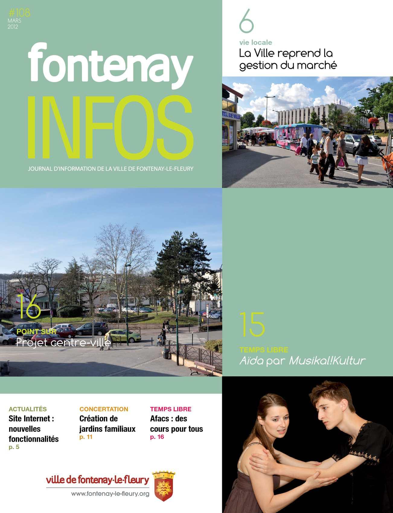 Projet Centre Ville Fontenay Le Fleury