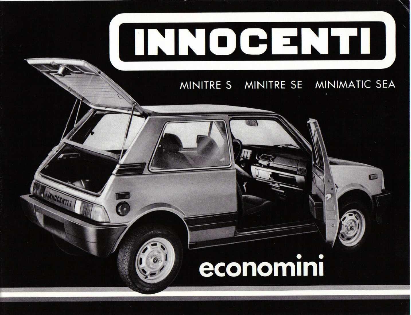 1984 Innocenti MiniTre S/SE MiniMatic SEA Incacars Canada