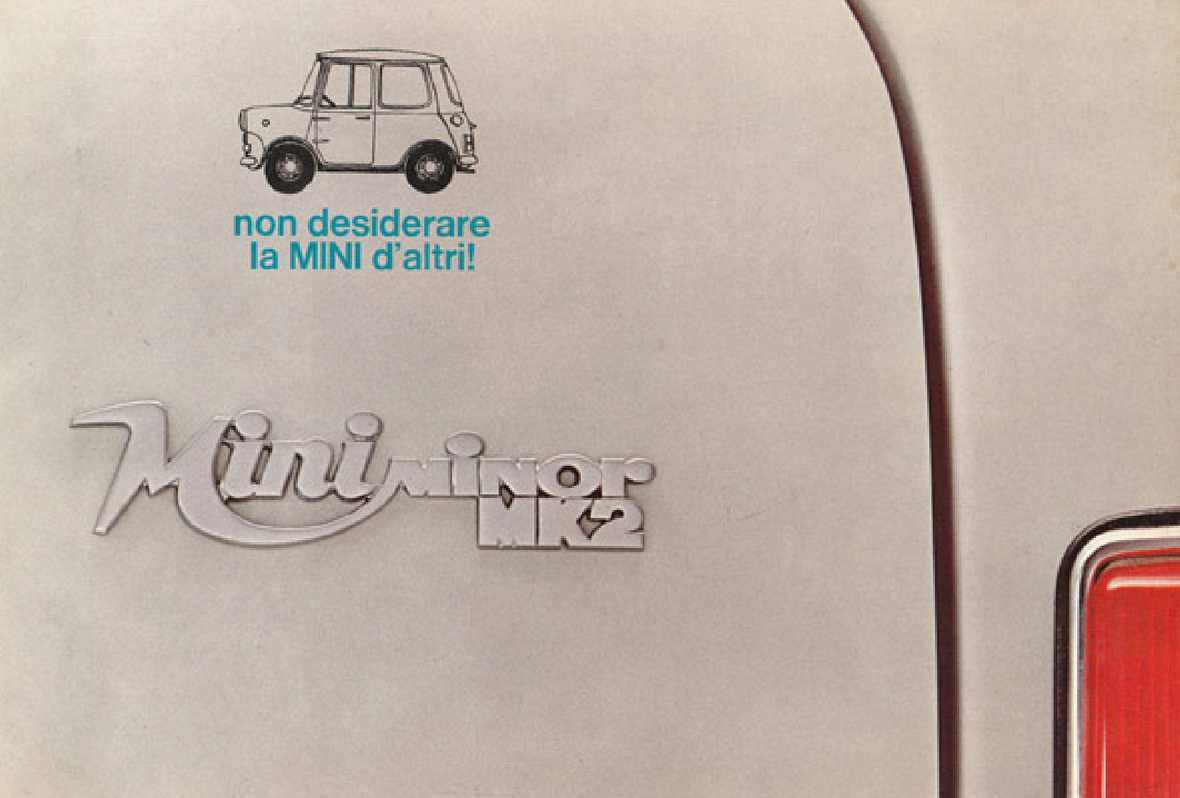 1969 Innocenti Mini Minor Mk2 Italia