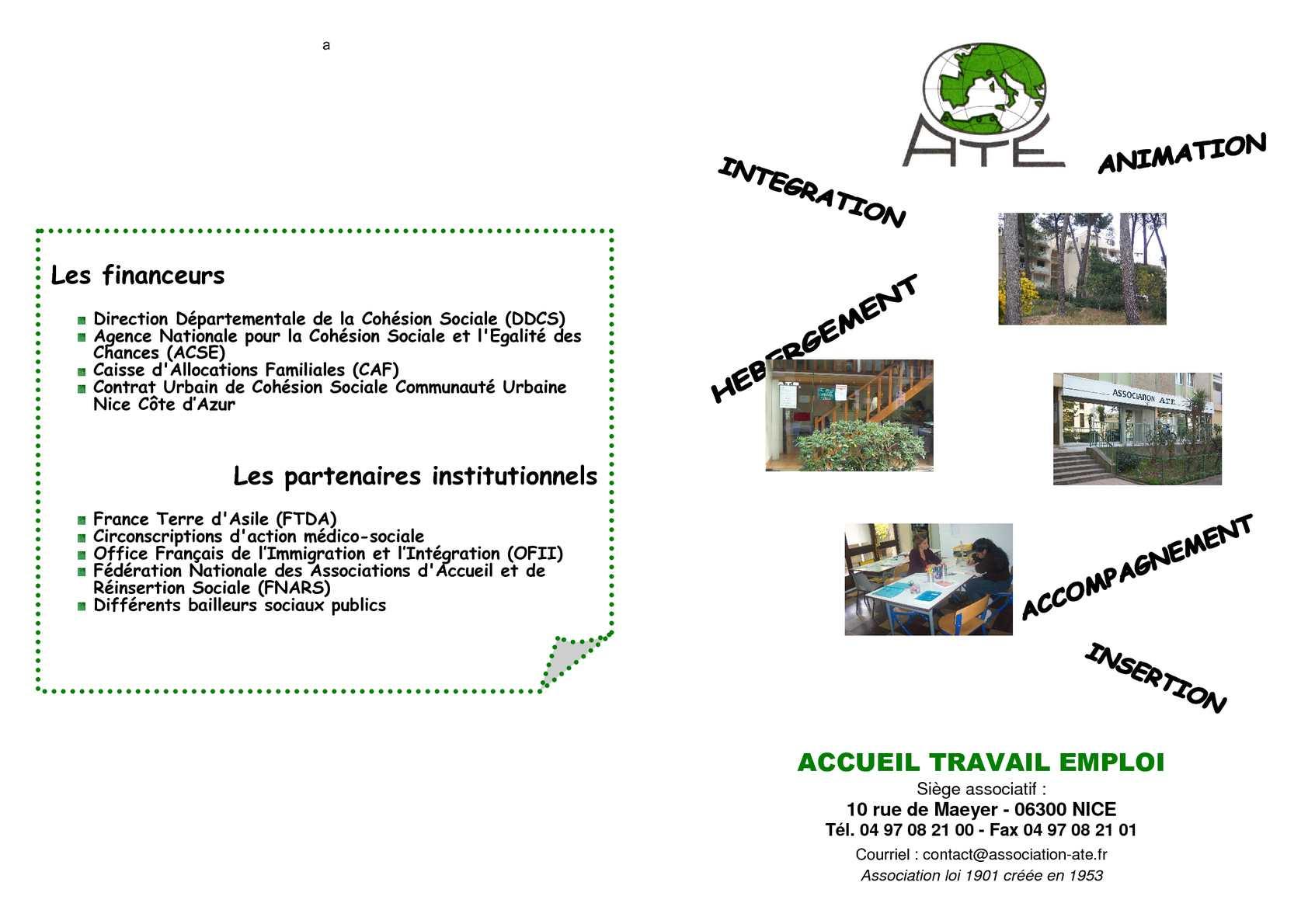 Calam o plaquette ate f vrier 2011 - Office francais de l immigration et de l integration lille ...