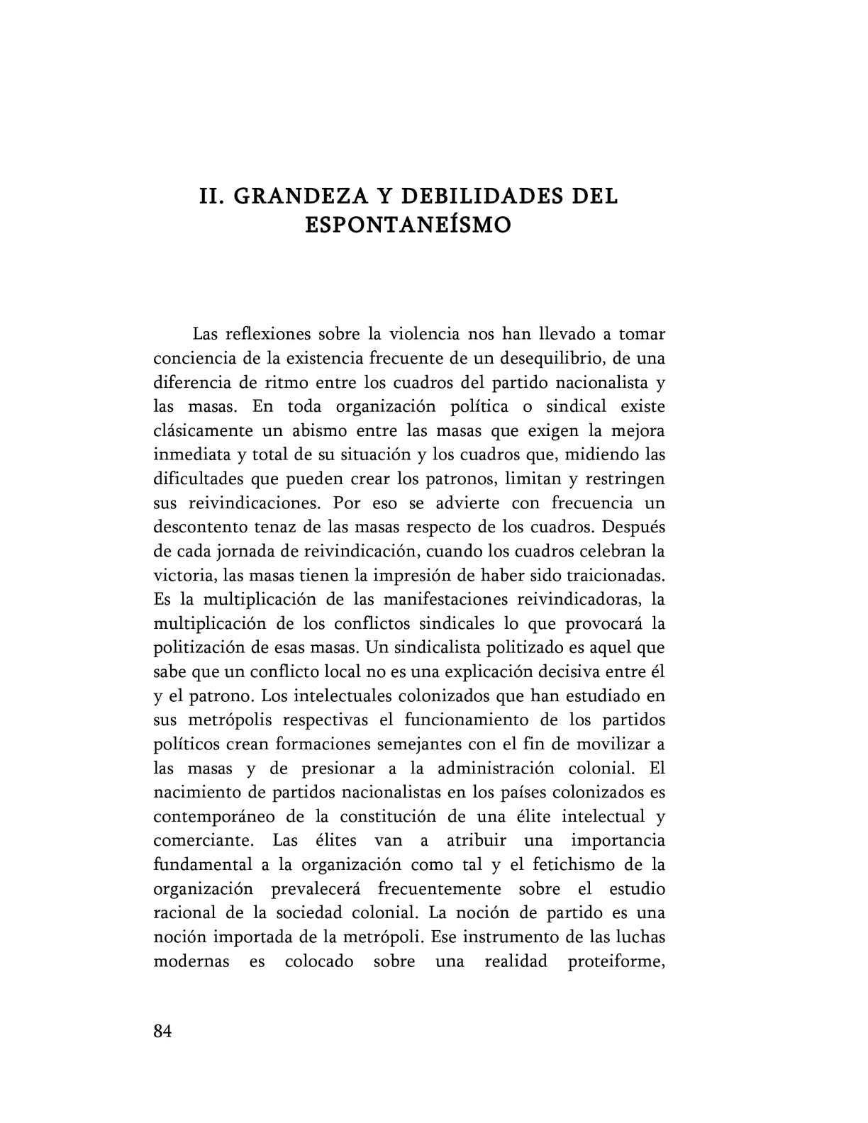Calaméo - Frantz Fanon- Grandeza y debilidades del espontaneísmo