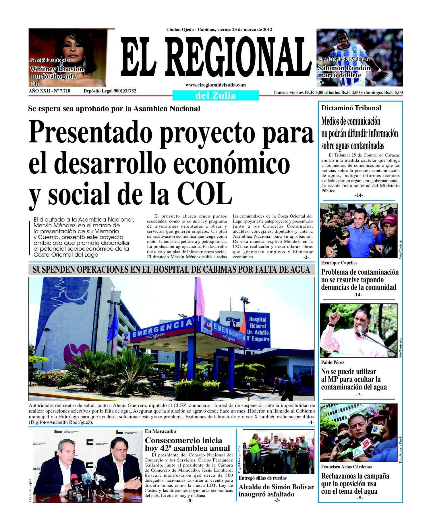 Calaméo - El Regional del Zulia 23-03-2012