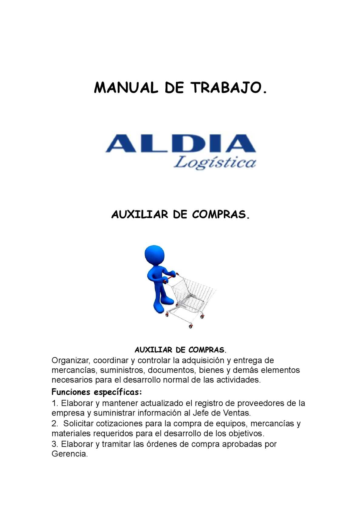 Calaméo - Manual de Funciones Auxiliar de Compras