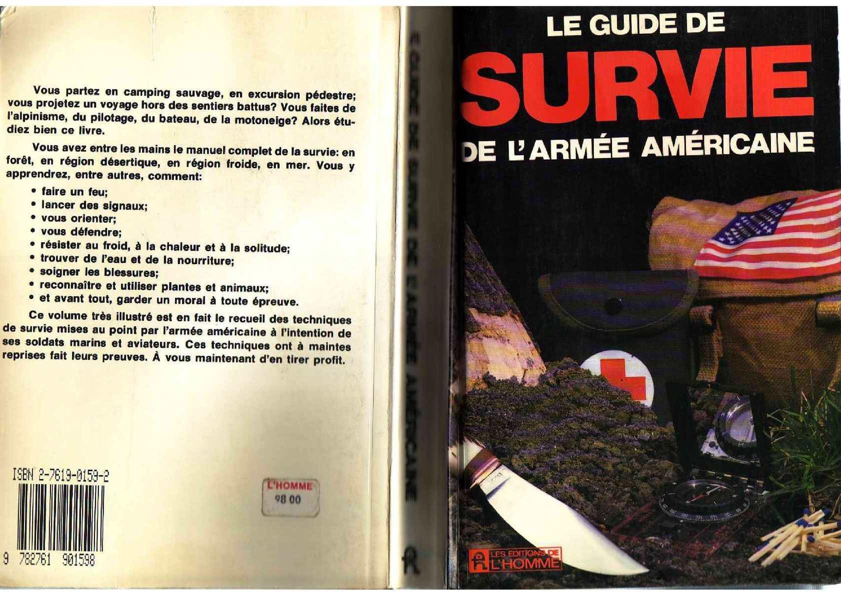 Guide de Survie de l'armée Américaine