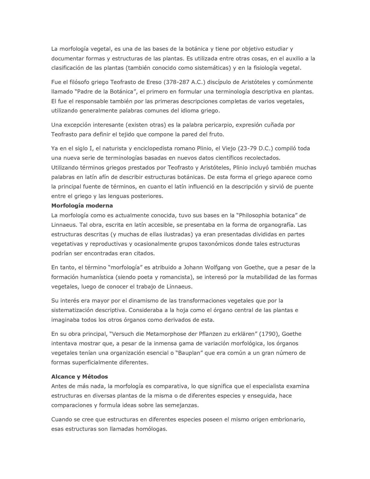 Calaméo - La morfología vegetal